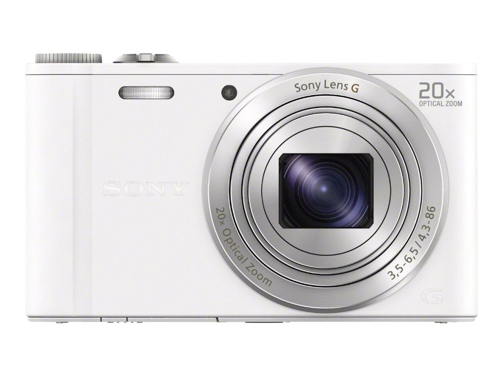 Sony DSC-WX300 Camera - White, DSCWX300/W, 15567106, Cameras - Digital - Point & Shoot