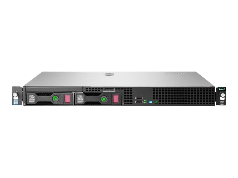 HPE ProLiant DL20 Gen9 Intel 3GHz Xeon, 823556-B21, 30982666, Servers