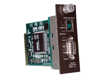 TRENDnet Management Module for TFC-1600 Chassis SNMP Web Based, TFC-1600MM