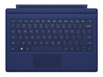 Microsoft Surface Pro 3 Type Cover, Blue, RD2-00079, 31804079, Keyboards & Keypads