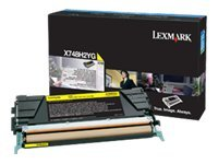 Lexmark Yellow High Yield Toner Cartridge for X748 Color Laser MFP Series