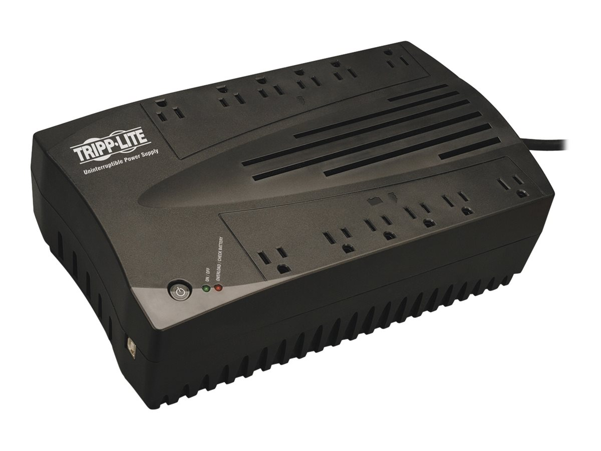 Tripp Lite 750VA UPS Low Profile Line-Interactive (12) Outlet, Instant Rebate - Save $4, AVR750U, 6262167, Battery Backup/UPS
