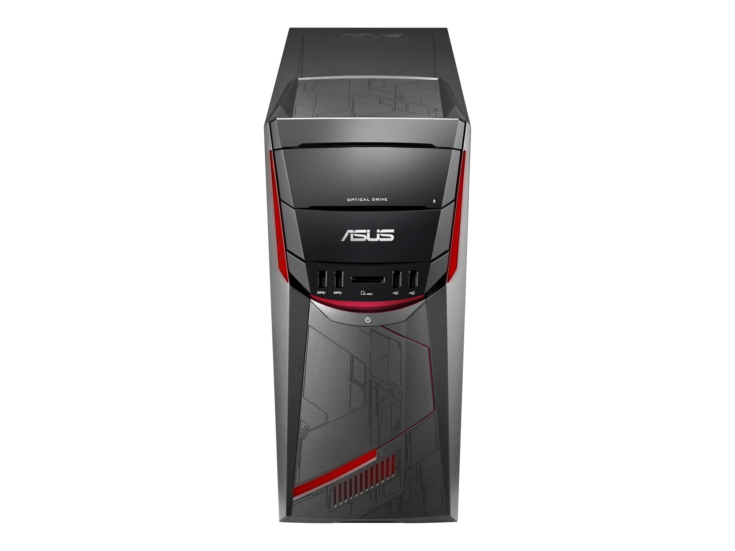 Asus G11CD-DB52 Desktop Core i5-6400 2.7GHz 8GB 1TB GTX950 W10, G11CD-DB52