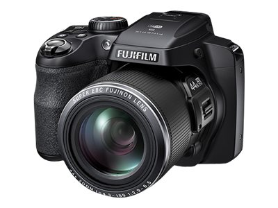 Fujifilm FinePix S8400 Digital Camera, 16MP, 30x Zoom, Black, 16324446, 15673961, Cameras - Digital - Point & Shoot
