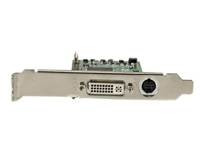 StarTech.com 1080P High-definition HDMI VGA DVI PCIe Capture Card, PEXHDCAP60L