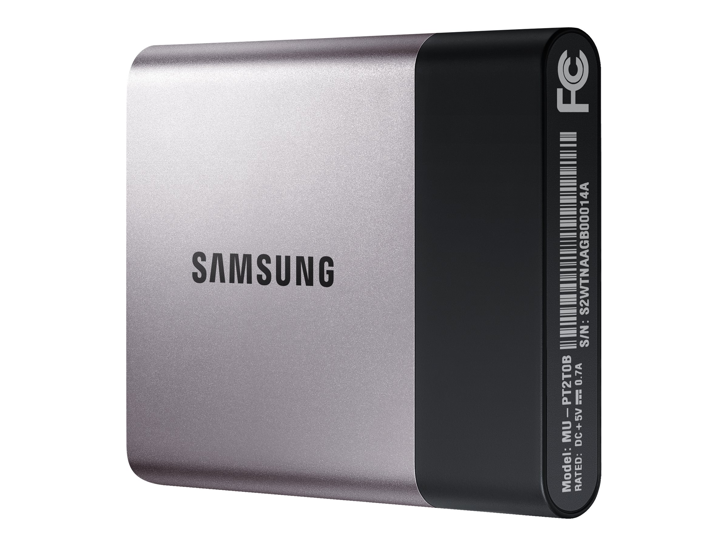 Samsung 500GB T3 USB 3.1 Portable Solid State Drive, MU-PT500B/AM, 31649961, Solid State Drives - External