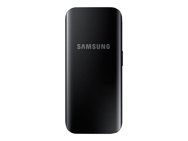 Samsung Portable Battery Pack 2100mAh, Black, EB-PJ200BBEGUS