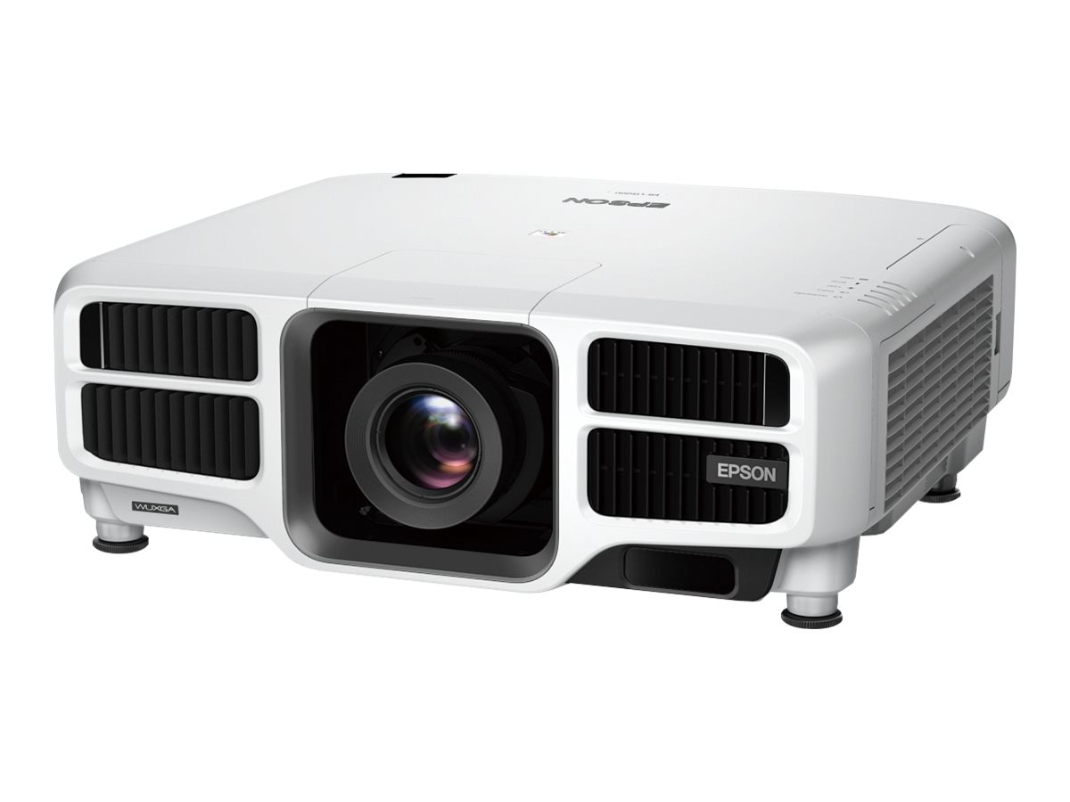 Epson Pro L1500U Laser WUXGA 3LCD Projector with Standard Lens, 12000 Lumens, White, V11H792020