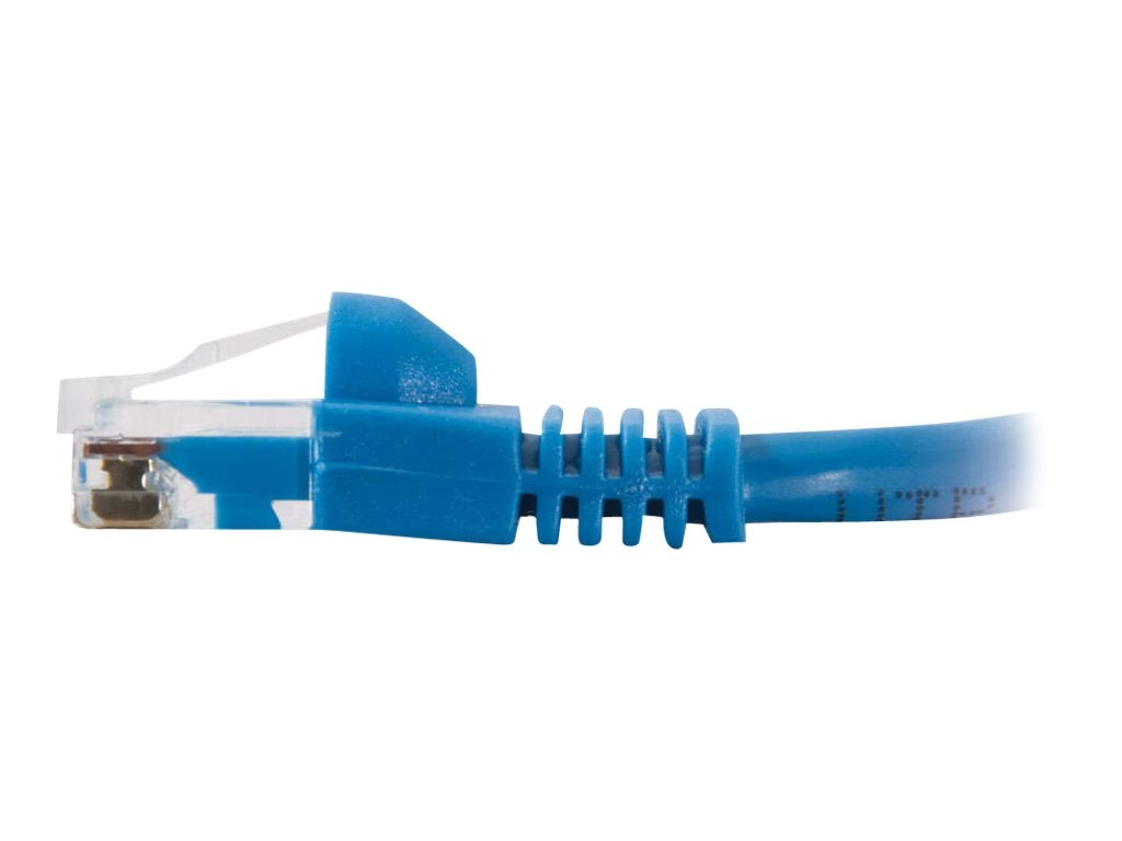 C2G Cat5e Snagless Unshielded (UTP) Network Patch Cable - Blue, 12ft