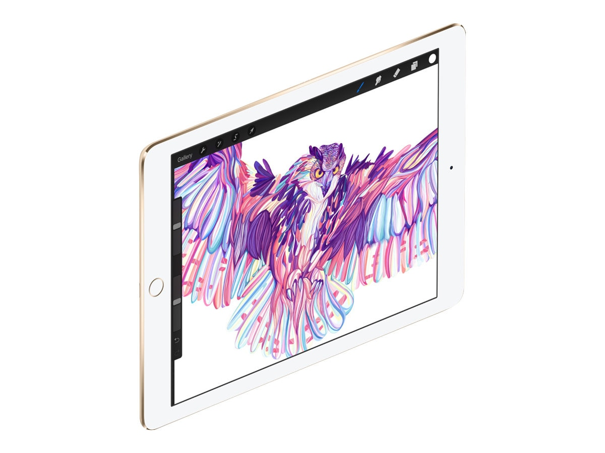 Apple iPad Pro 9.7, 32GB, Wi-Fi, Gold, MLMQ2LL/A, 31802735, Tablets - iPad Pro