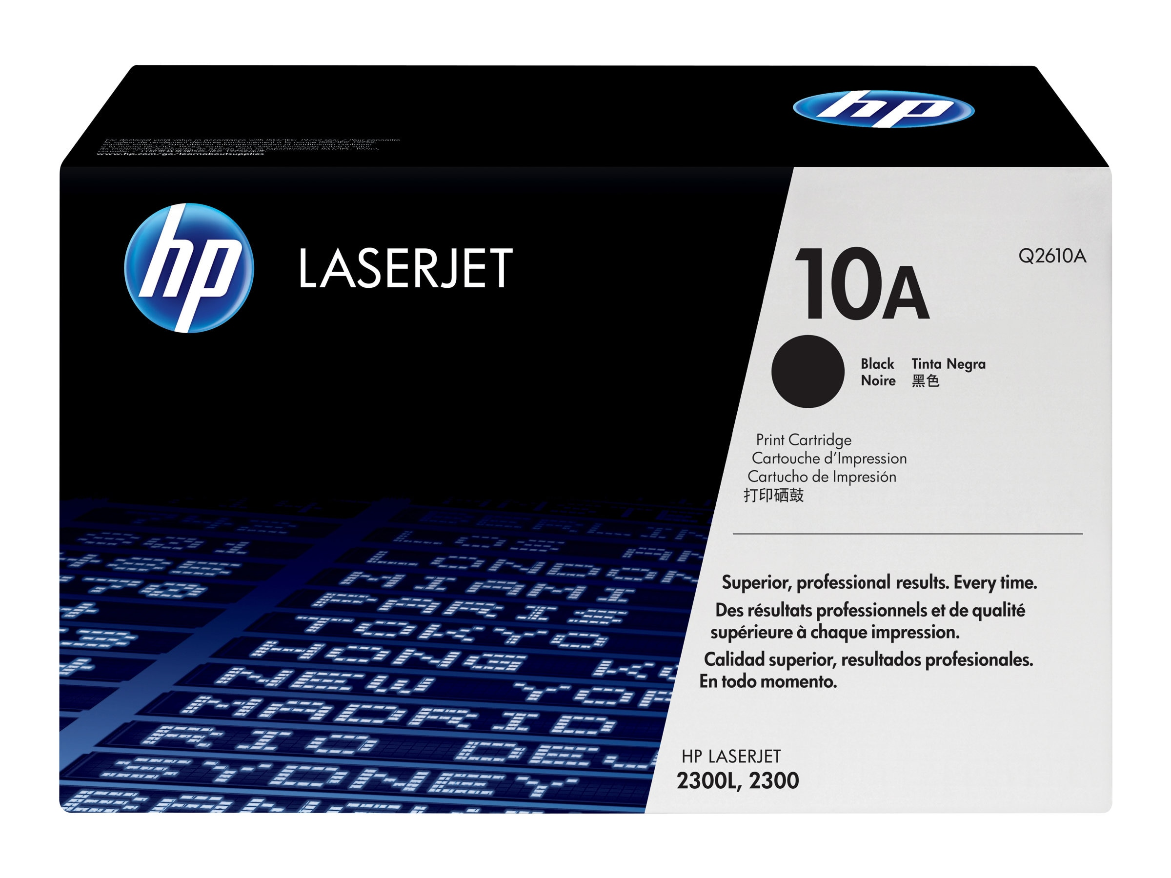 HP 10A (Q2610A) Black Original LaserJet Toner Cartridge