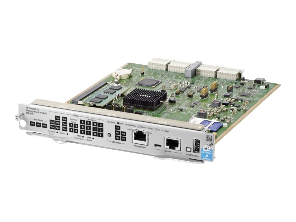 HPE 5400R ZL2 Management Module, J9827A, 17439722, Network Switches