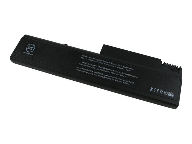 BTI Battery, Li-Ion 11.1V 5200mAh 6-cell for HP 6530B 6535B 6730B 6735B ELITEBOOK 6930P 8440P, KU531AA-BTI