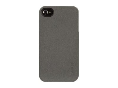 Griffin Outfit Flock, for iPhone 4, Gun Metal, GB03176, 13511871, Carrying Cases - Phones/PDAs