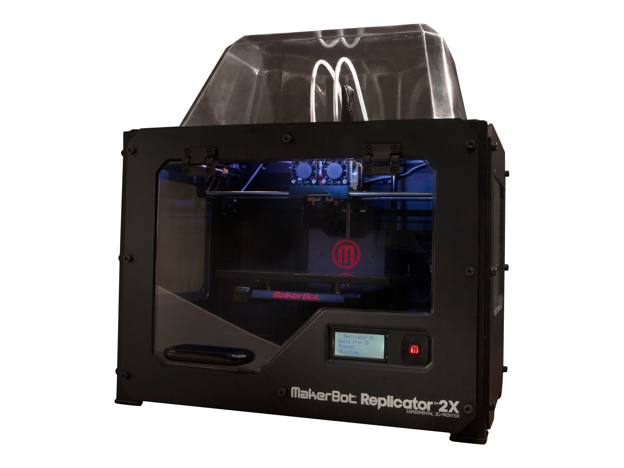 Scratch & Dent MakerBot Replicator 2X Experimental 3D Printer