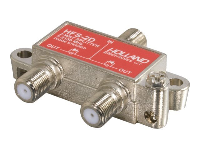 C2G 2-Way High-frequency Splitter, 41020, 8994290, Video Extenders & Splitters