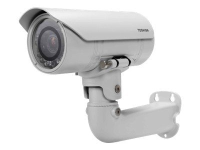 Toshiba IP Bullet Camera, 3-9mm, IP66 Weatherproof Housing, IK-WB80A, 12267061, Cameras - Security