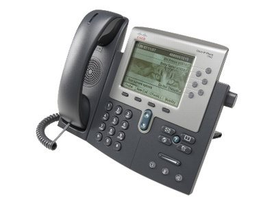 Cisco Unified IP Phone 7962G, for Channels, (1) Unified Communications Manager Express Station Lic.