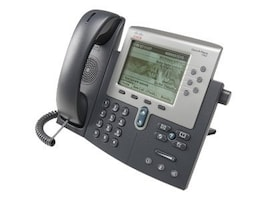 Refurb. Cisco Unified IP Phone 7962G SCCP, SIP VoIP, CP-7962G-RF, 17052667, VoIP Phones