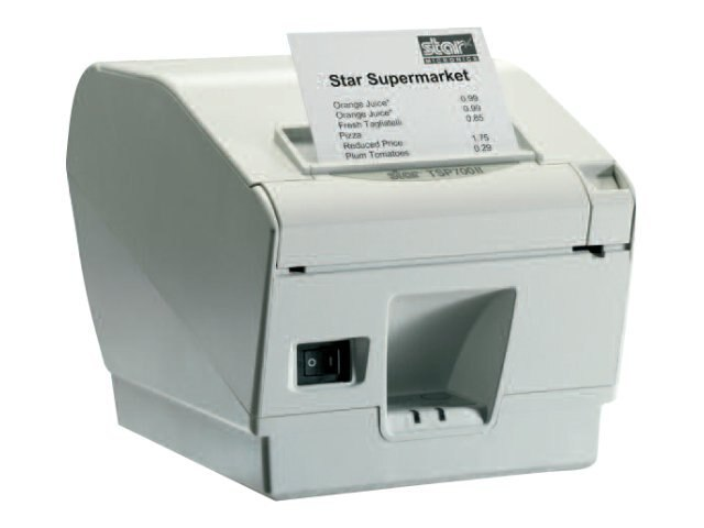 Star Micronics TSP743IID Thermal Friction Serial Printer - Putty w  Cutter, 39442300, 11720775, Printers - POS Receipt