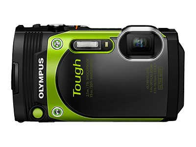 Olympus Stylus Tough TG-870 Digital Camera, Greeen, V104200EU000, 31188721, Cameras - Digital - Point & Shoot