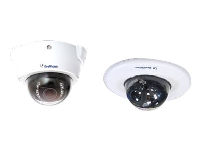 Geovision 1.3MP H.254 3x Zoom Low Lux WDR IR Fixed IP Dome Camera