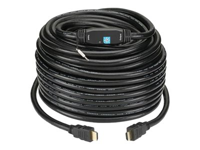 Kanex High Resolution HDMI Cable w  Booster, 100ft., HD75FTCL314, 15610784, Cables