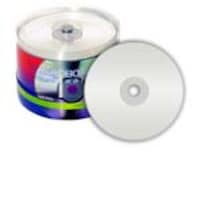 Microboards Taiyo Yuden 8x White Inkjet Hub Printable DVD-R Media (6 Spindles 100 Discs-per-Spindle), JDMR-WPP-SK8, 7576205, DVD Media
