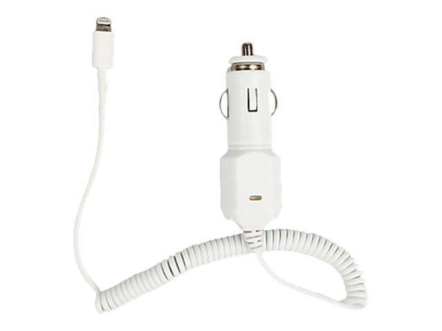 4Xem Apple Mfi 8-pin Car Charger, 4X8PINCHRG, 31191081, Power Cords