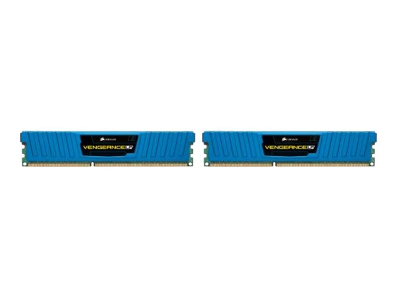 Corsair 16GB PC3-12800 1600MHz DDR3 LP DIMM Kit, 2x8GB, CML16GX3M2A1600C10B