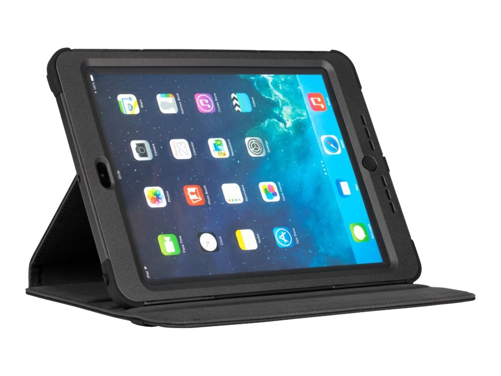 Targus Versavu Rugged Case for iPad Air 9.7, Black, THD108USZ, 17440361, Carrying Cases - Tablets & eReaders