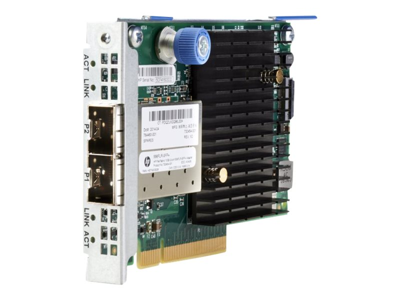 HPE FlexFabric 10Gb 2-Port 556FLR-SFP+ Adapter, 727060-B21