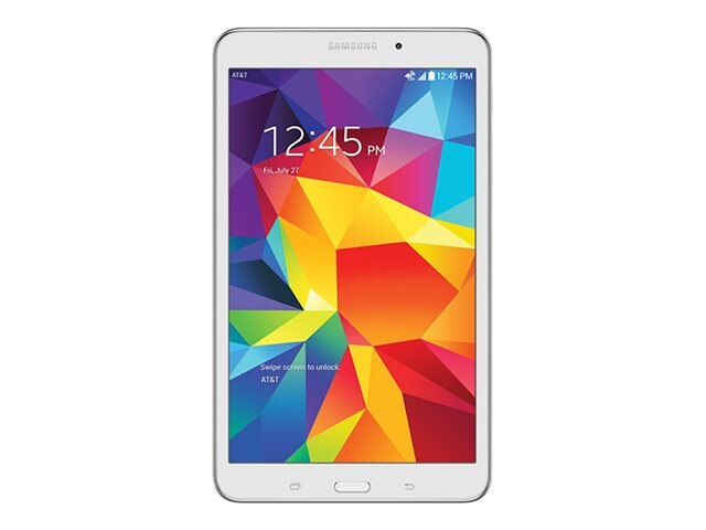 Samsung Galaxy Tab 4 QC 1.2GHz 1.5GB 16GB abgn ATT 2xWC 8 WXGA MT Android 4.4 White, SM-T337AZWAATT, 30994131, Tablets