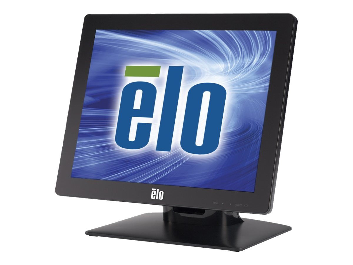 ELO Touch Solutions 15 1517L LED-LCD iTouch Touchscreen Monitor, Black
