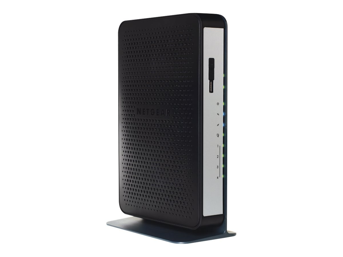 Netgear N450 WiFi Cable Modem Router, N450-100NAS, 16613645, Wireless Routers