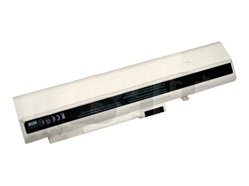 BTI Battery, 9-Cell, White for Acer Aspire One A110 A150 D150 D250 Series, AR-ASONEX9W, 10699927, Batteries - Notebook