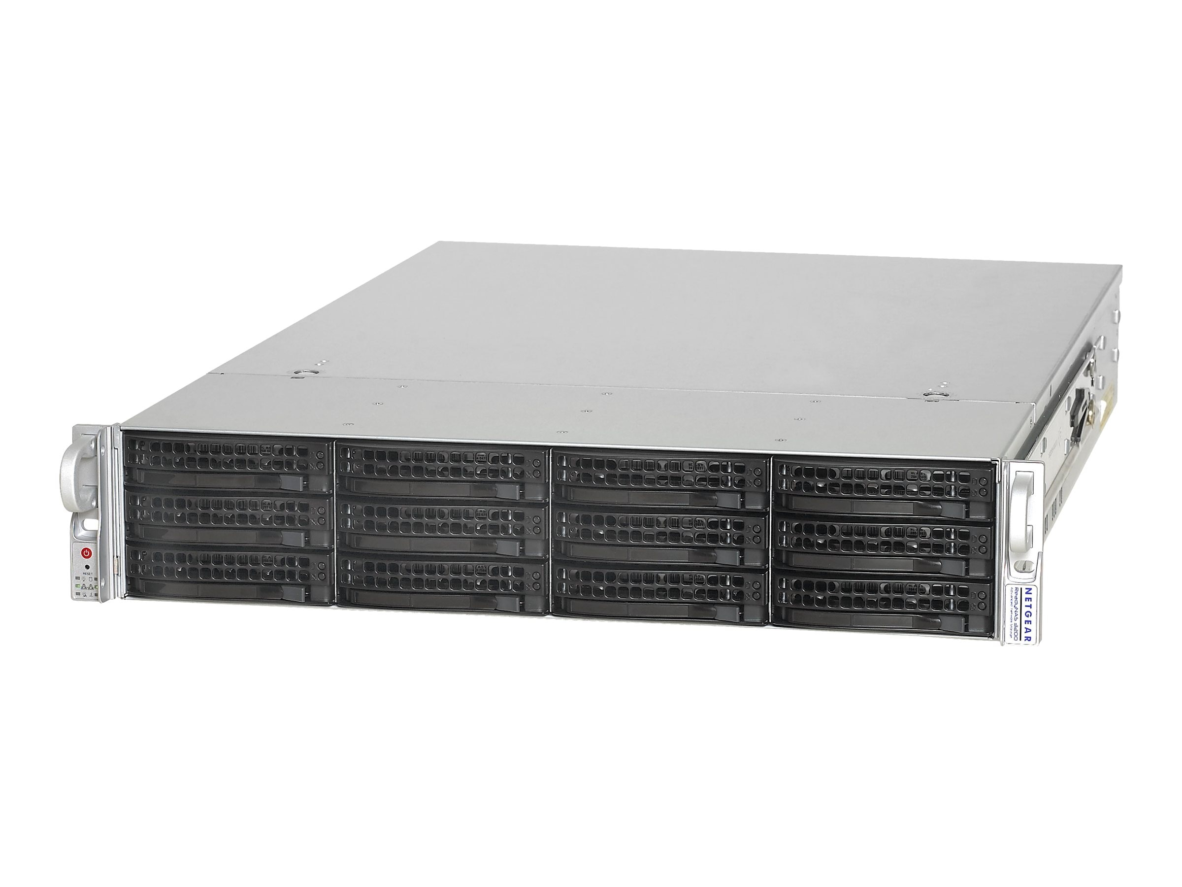 Netgear 12TB ReadyNAS 3200 Network Storage System, RN12P1210-100NAS, 10106651, Network Attached Storage
