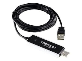 TRENDnet High Speed PC-to-PC Sharing Cable, TU2-PCLINK, 10952443, Cables