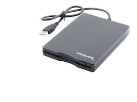 Sabrent 1.44MB 3.5 USB External Floppy Drive, SBT-UFDB, 8507261, Floppy Disk Drives & Accessories