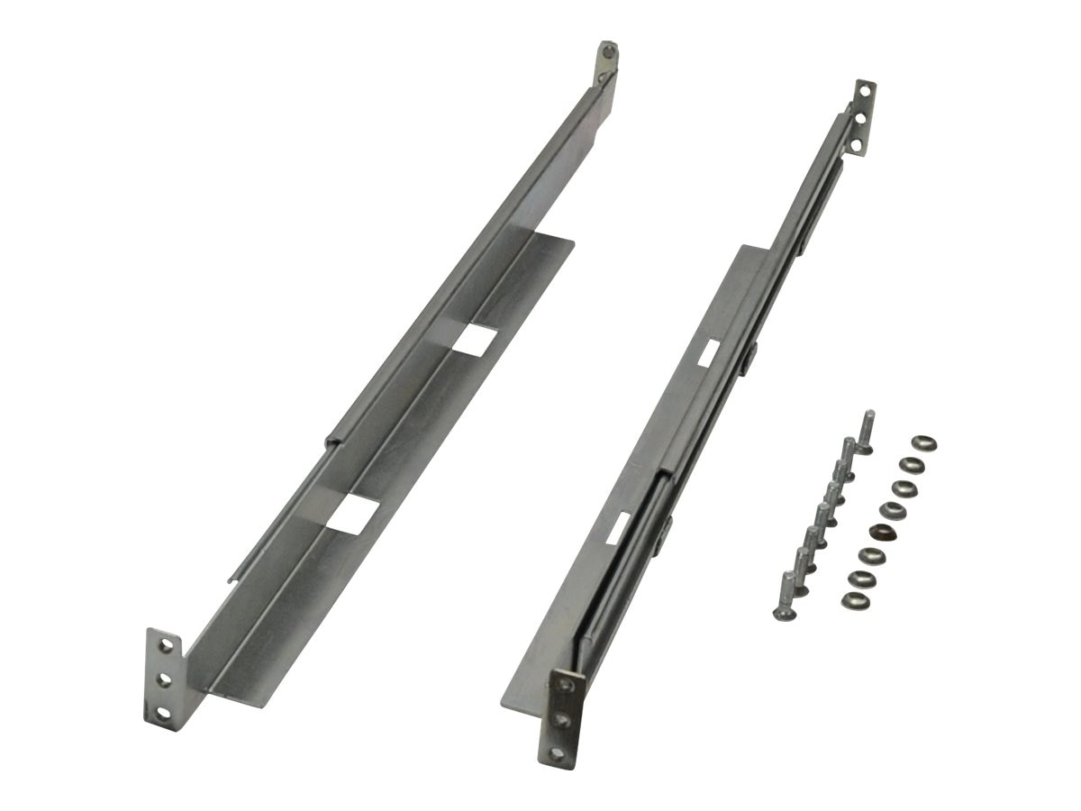 Tripp Lite Universal Adjustable Rackmount Shelf Kit, 1U, 4POSTRAILKIT1U