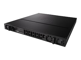 Cisco ISR 4431 with 4 onboard GE, 3 NIM slots, 1 ISC slot, 8GB Flash Memory default, ISR4431/K9, 17932736, Network Routers