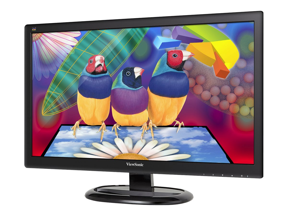 ViewSonic 23.6 VA2465SMH Full HD LED-LCD Display, Black, VA2465SMH