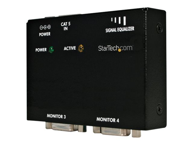 StarTech.com VGA Video Extender Remote Receiver over Cat 5, ST121R, 8015362, Video Extenders & Splitters