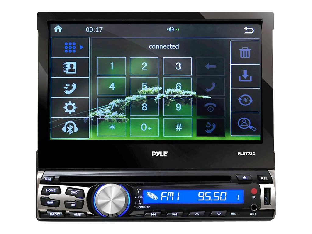 Pyle 7 BT & GPS Navigation Head Unit Receiver w  Built-In Mic, PLBT73G, 18518676, Stereo Components