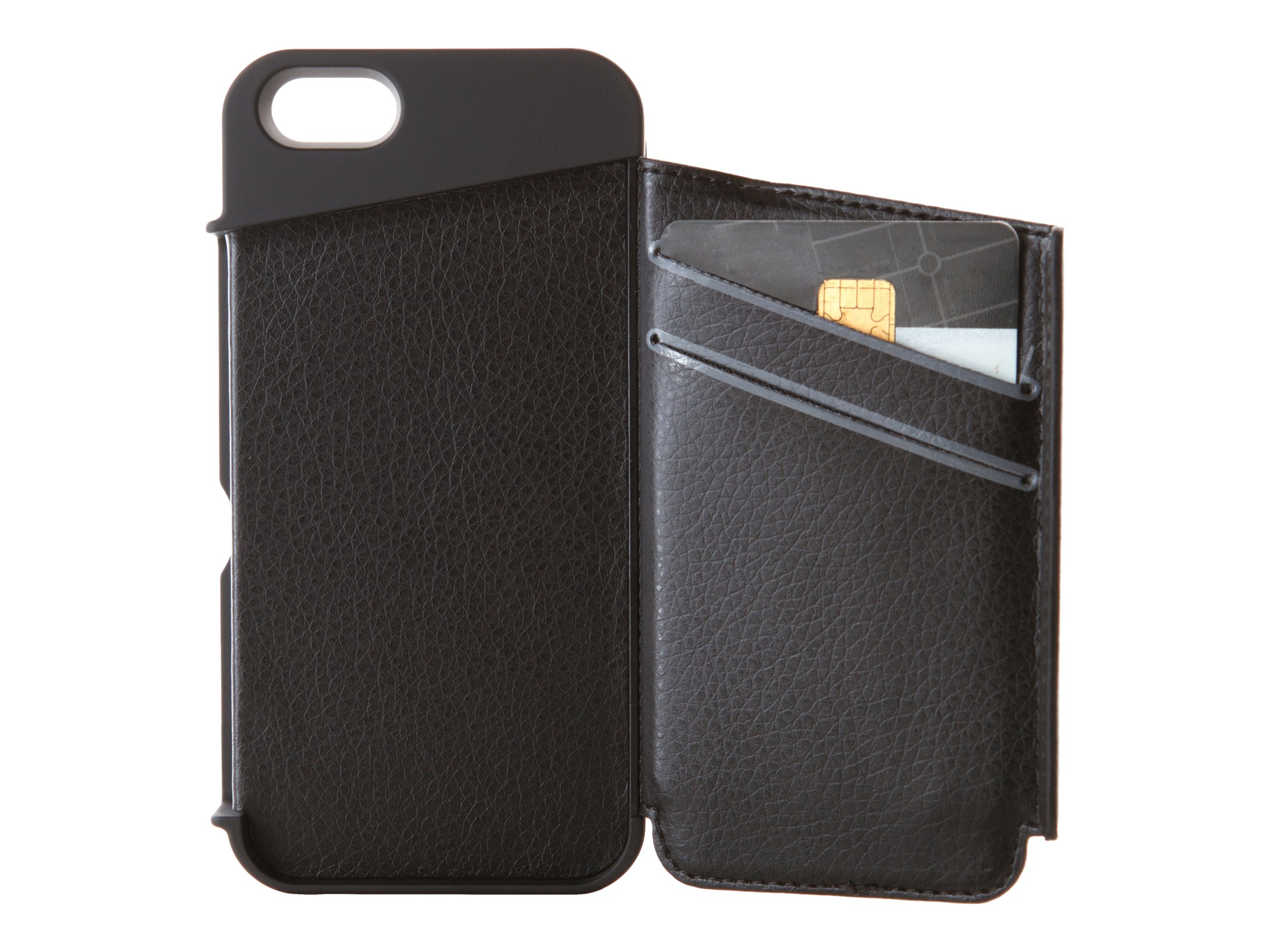 Targus Wallet Case for iPhone 5, Black, THD022US, 14765661, Carrying Cases - Phones/PDAs