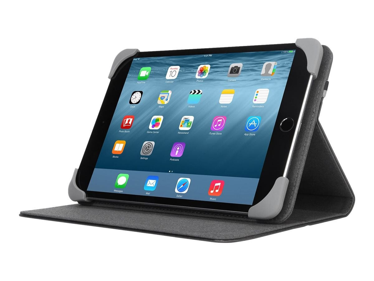 Targus Safe Fit Case for iPad mini 1 2 3 7.9, Black, THZ593GL, 28667296, Carrying Cases - Tablets & eReaders