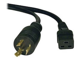 Tripp Lite 6ft. Cable 12AWG Heavy Duty-P S C19 to L6-20P, P040-006, 13173779, Power Cords