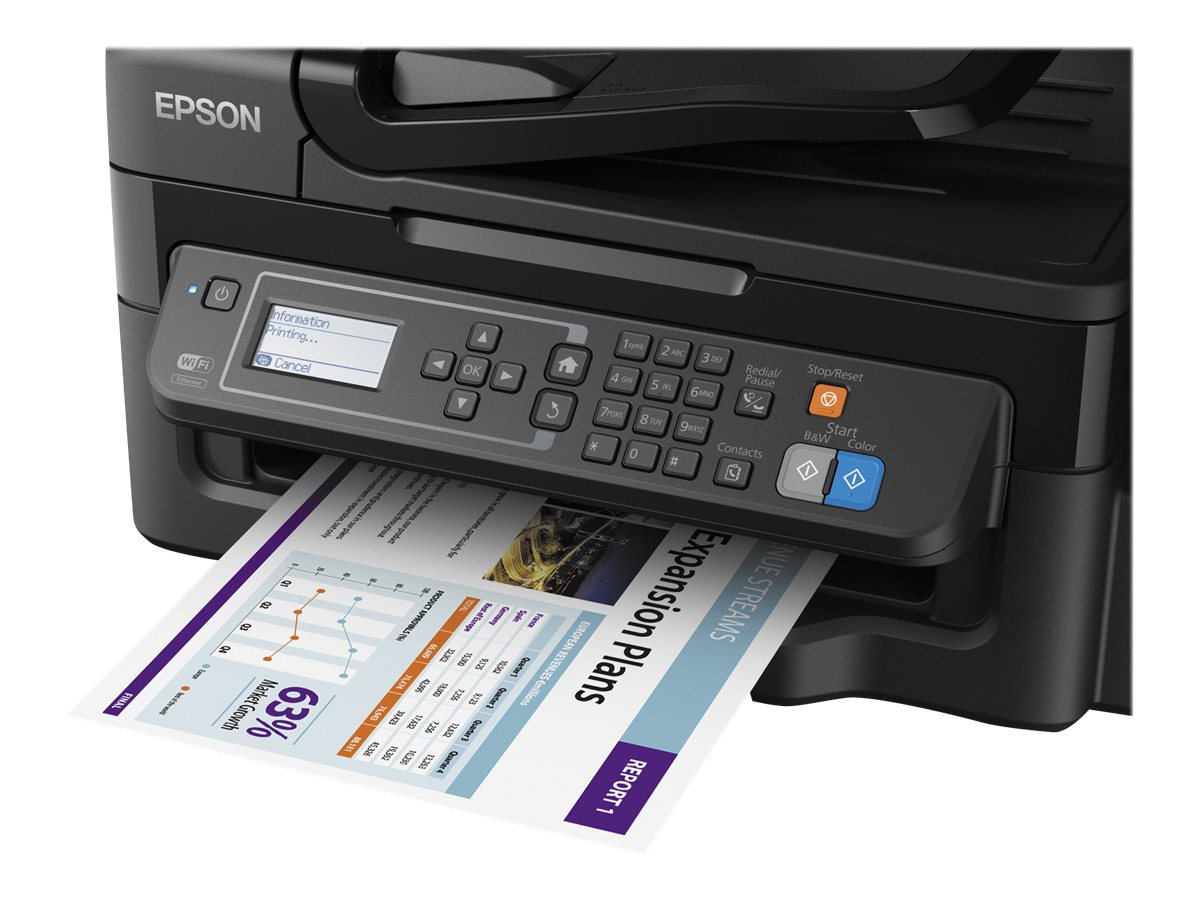 Epson WorkForce ET-4500 EcoTank All-in-One Printer, C11CE90201