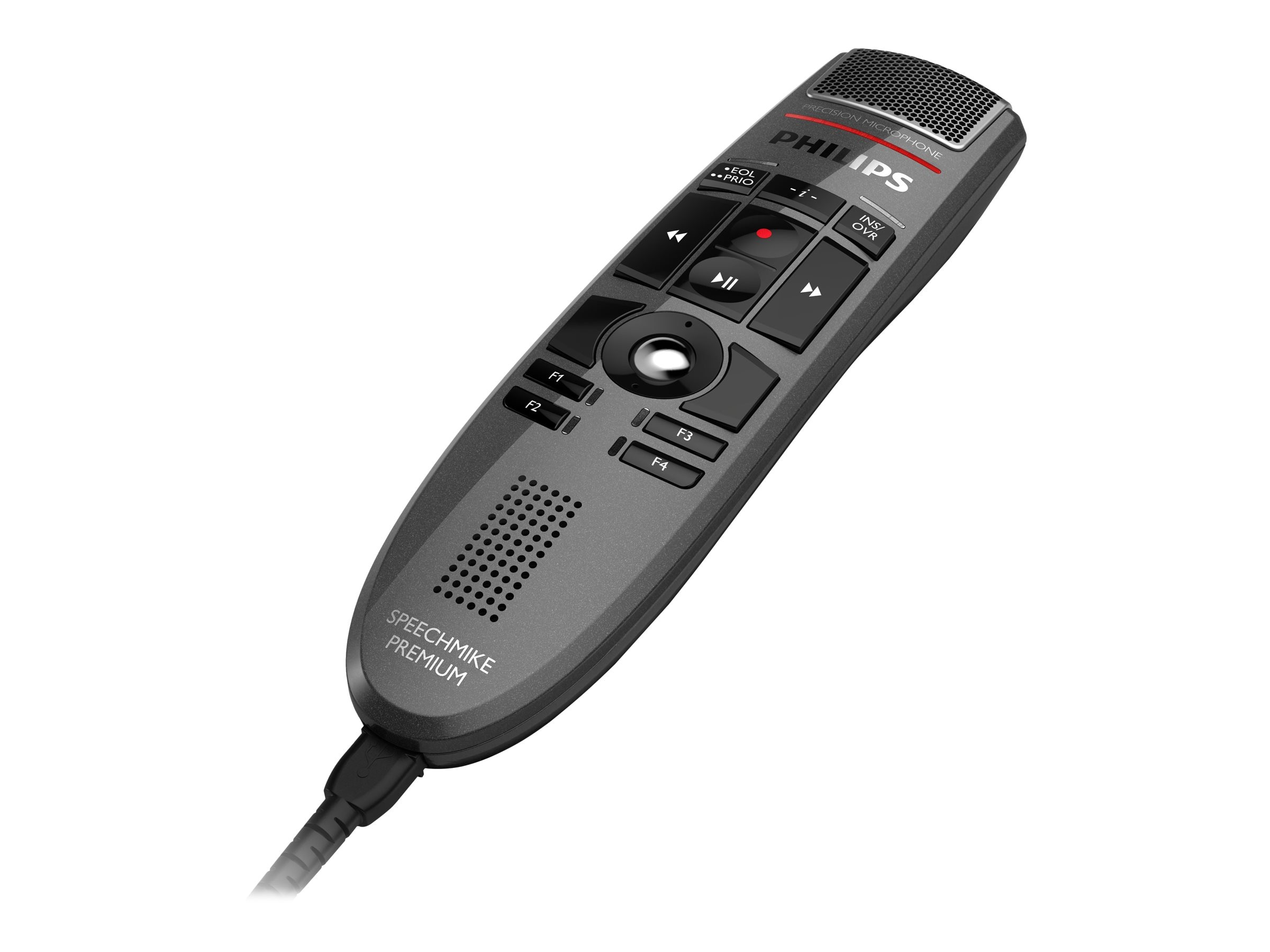 Philips SpeechMike Premium USB Dictation Microphone Push Button Operation, LFH-3500, 14852175, Microphones & Accessories