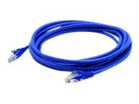 ACP-EP Cat6A Molded Snagless Patch Cable, Blue, 15ft, 25-Pack, ADD-15FCAT6A-BLUE-25PK